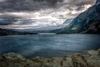 Stormy Day at St. Mary Lake