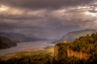 A Rainy Day in the Gorge