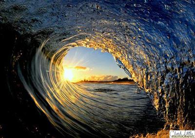 Clark Little Wave Photo