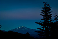 Oregon's Mt. Jefferson During Blue Hour