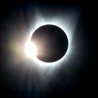 """Diamond Ring"" effect -- Total Eclipse August 21, 2017"