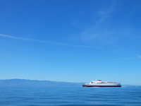 Port Angeles Ferry Returning from Victoria
