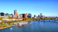 Portland from the Marquam Bridge I