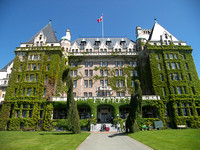 The Empress Hotel - Victoria, BC, Canada