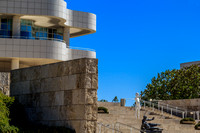 Entrance to the Getty Art Museum