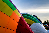 Hot Air Balloons Inflating