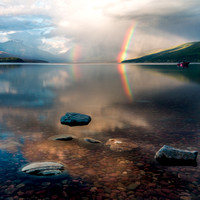 Lake McDonald and Rainbows