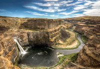 Palouse Falls and River